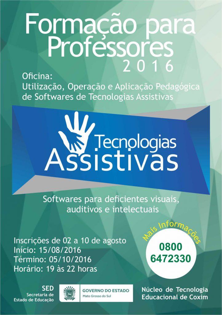 cartaz Tecnologias Assistivas