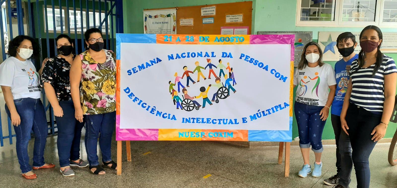 Escolas jurisdicionadas a CRE4 realizam ações durante a Semana Nacional da Pessoa Com Deficiência Intelectual e Múltipla.